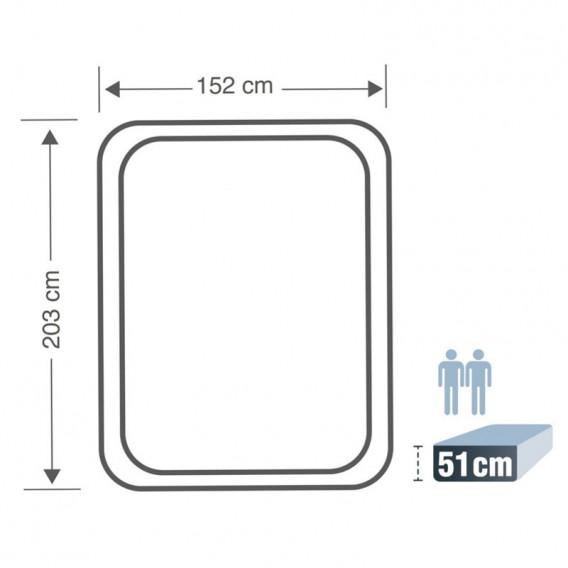 Cama hinchable Intex Thermalux doble 64478NP