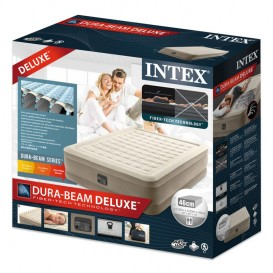 Cama hinchable Intex Ultra Plush doble 64428NP