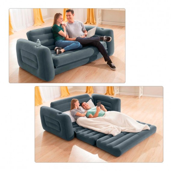 Sofá cama hinchable Intex 66552NP
