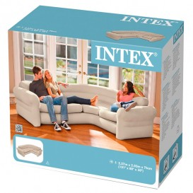 Sofá hinchable rinconera Intex 68575NP
