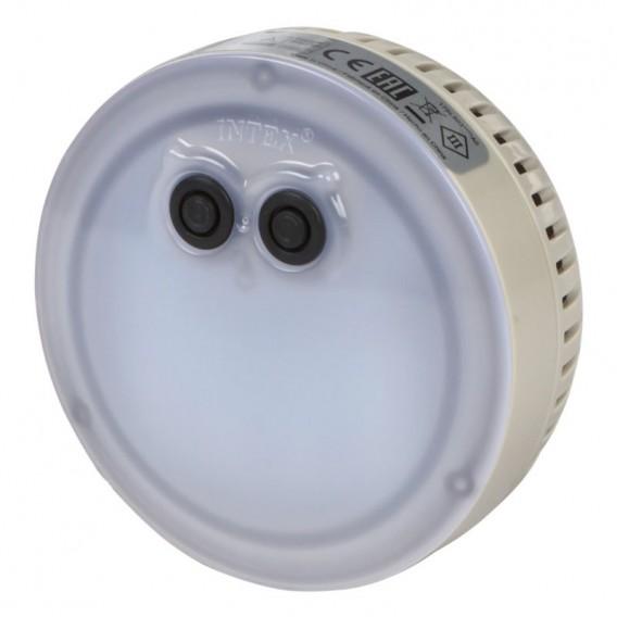 Foco LED multicolor a pilas PureSpa burbujas Intex 28503