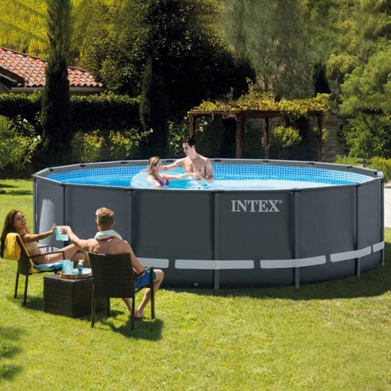 Piscina Intex Ultra XTR Frame 488x122 26326NP