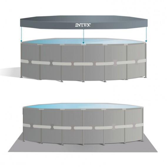 Cobertor y tapiz piscina Intex Ultra XTR Frame 26330NP