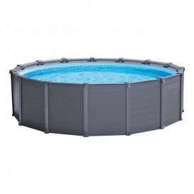 Piscina Intex Graphite Panel 478x124 26384NP