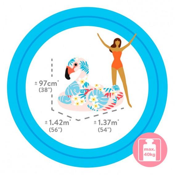 Flamenco tropical hinchable Intex 57559NP