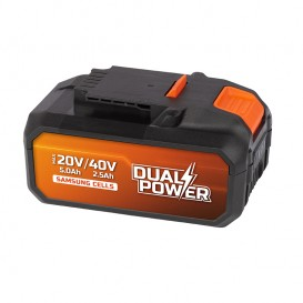 Batería litio 40V Dual Power Powerplus POWDP9038