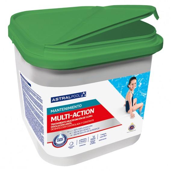 Multiacción sin bórico tabletas 250g AstralPool