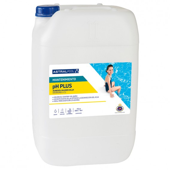 Incrementador pH Plus líquido AstralPool