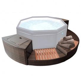 Kit de mobiliario para spa NetSpa Octopus 5 módulos