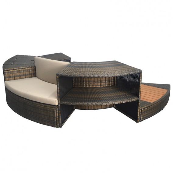 Kit de mobiliario para spa NetSpa Vita 5 módulos