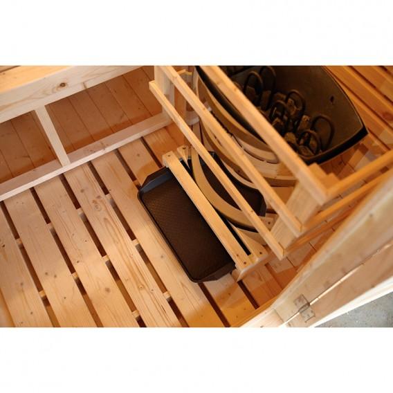 Sauna exterior de vapor Gaïa Omega