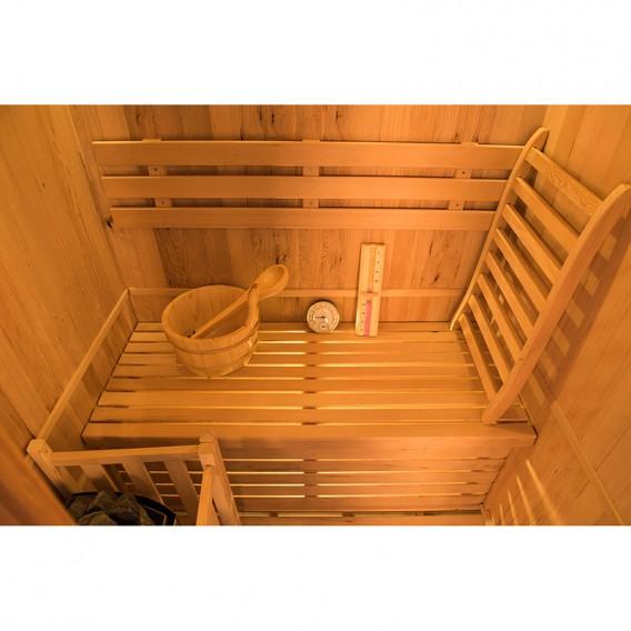 Sauna tradicional de vapor Zen 2 personas