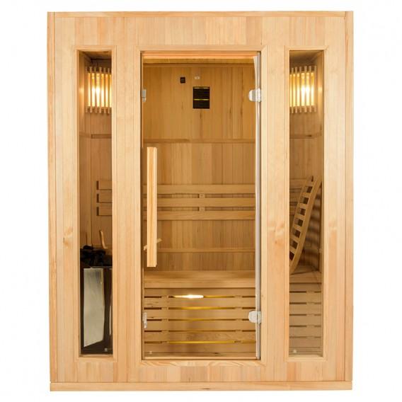 Sauna tradicional de vapor Zen 3 personas