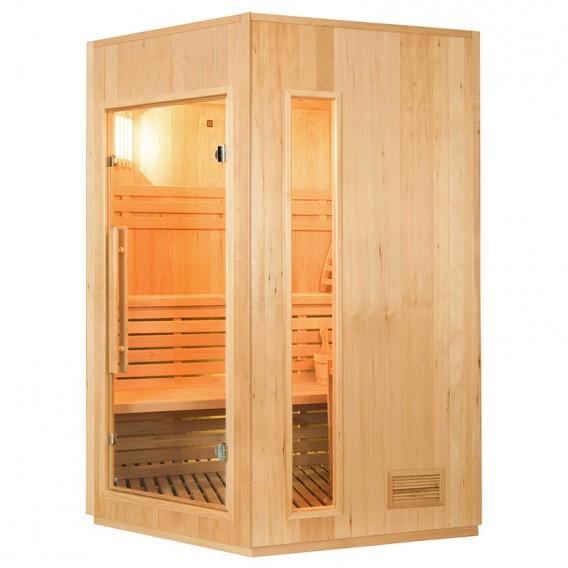 Sauna tradicional de vapor Zen rinconera 3-4 personas
