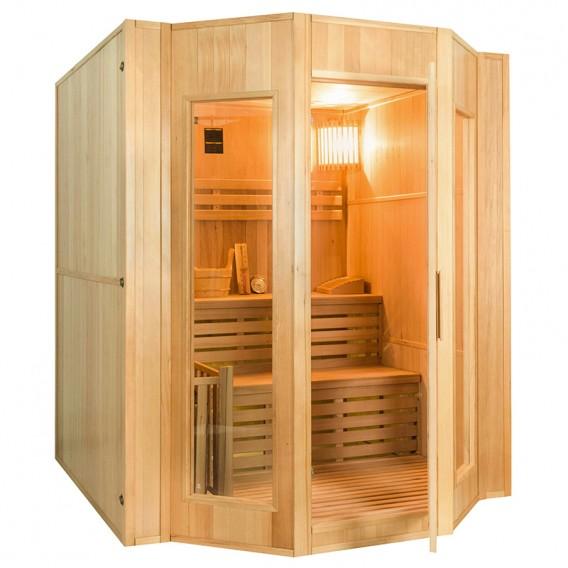 Sauna tradicional de vapor Zen 4 personas