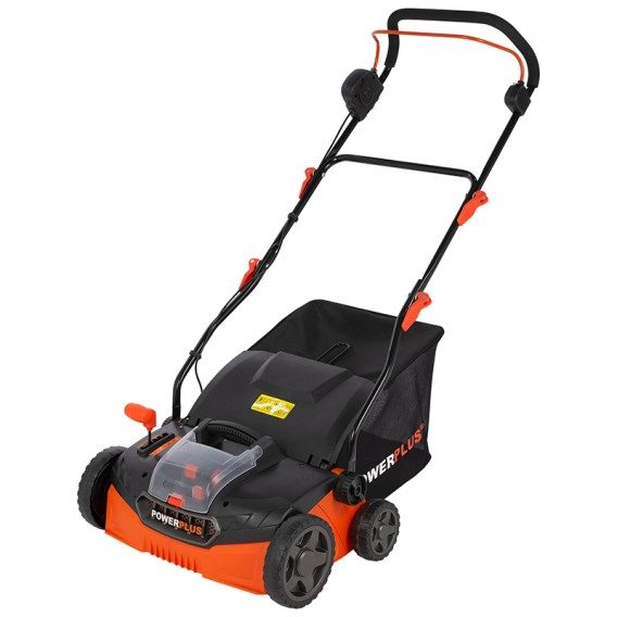Escarificador a batería de litio 40V Dual Power Powerplus POWDPG8020