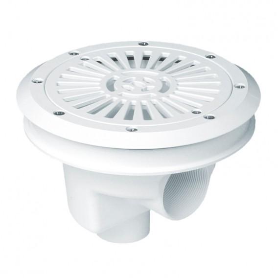 Sumidero circular Ø 200 mm rejilla plana liner AstralPool