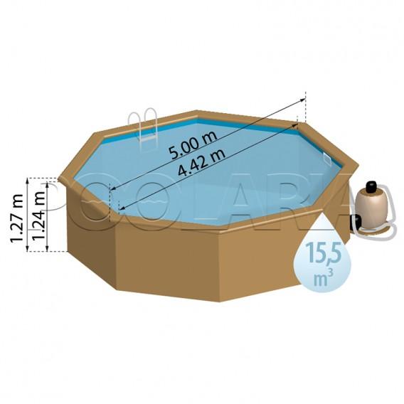 Dimensiones piscina Gre Sunbay Violette 2 800003