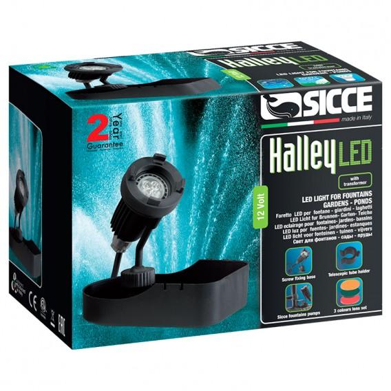 Foco subacuático Sicce Halley LED para estanques