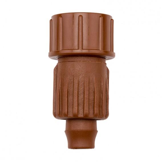 Adaptador BTT para tubo de goteo 16-18 mm