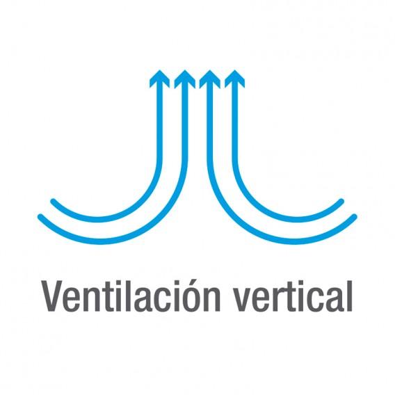 Poolex ventilación vertical