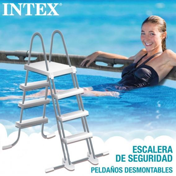 Escalera piscina Intex Greywood Prism Frame 26742NP