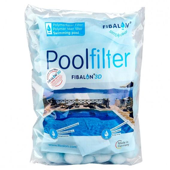 Fibalon 3D medio filtrante para piscina