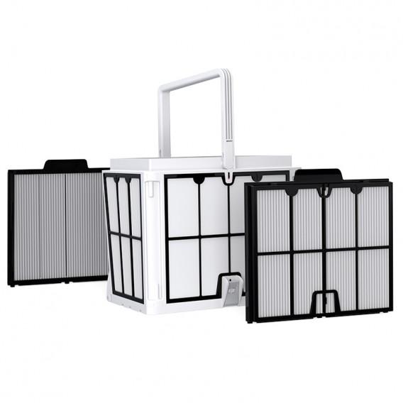 Cesta de filtración Easy-Clean con paneles ultrafinos