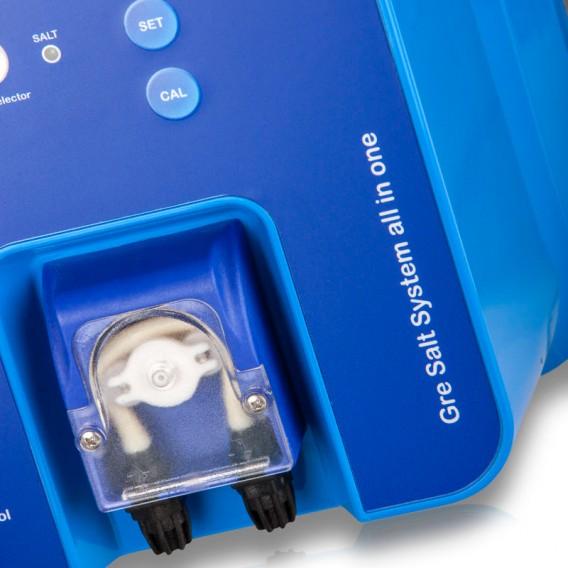 Clorador salino con control pH Gre para piscinas