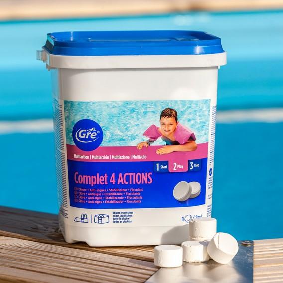 Pastillas multiacción Complet 4 actions Gre 5 kg