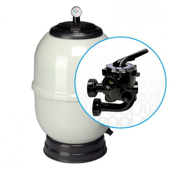 Filtro Aster AstralPool con válvula tornillos