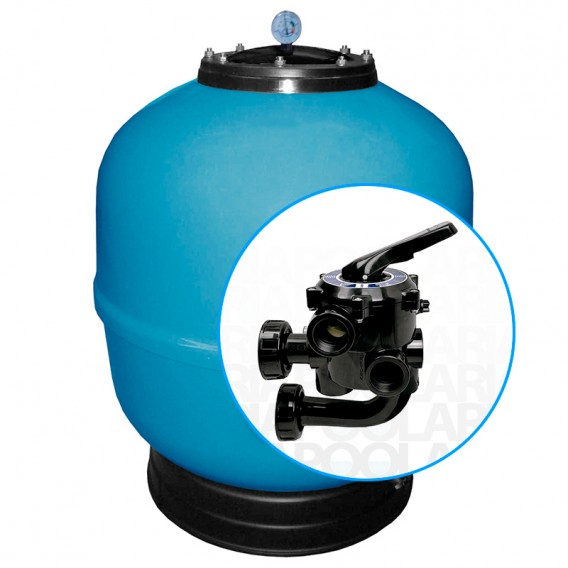 Filtro Ice AstralPool con válvula tornillos