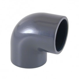 Codo 90° PVC encolar