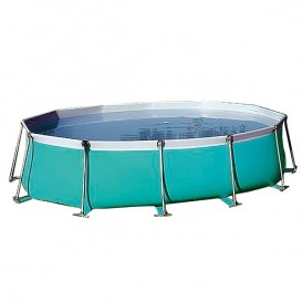 Piscina Flipper oval desmontable IASO
