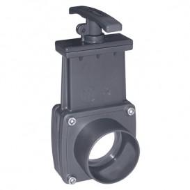 Válvula de guillotina PVC Cepex encolar x encolar