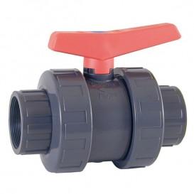 Válvula de bola Cepex Standard PVC-U PE-EPDM roscar