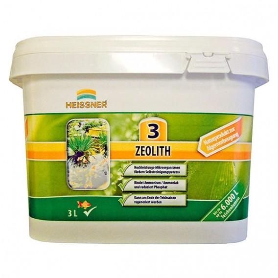 Zeolita sustrato filtrante para estanque envase 3 kg Heissner