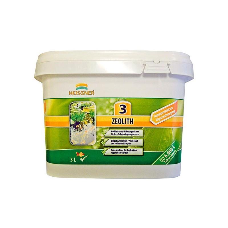 Zeolita sustrato filtrante para estanque envase 3 litros for Material para estanques