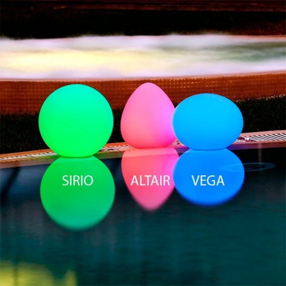 StarLight Altair lámpara flotante led piscina