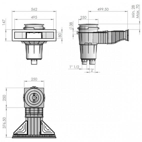 Skimmer Norm piscina liner y prefabricada AstralPool