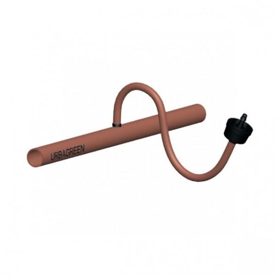 Microtubo flexible riego por goteo marrón (bobina 25 ó 50 m)
