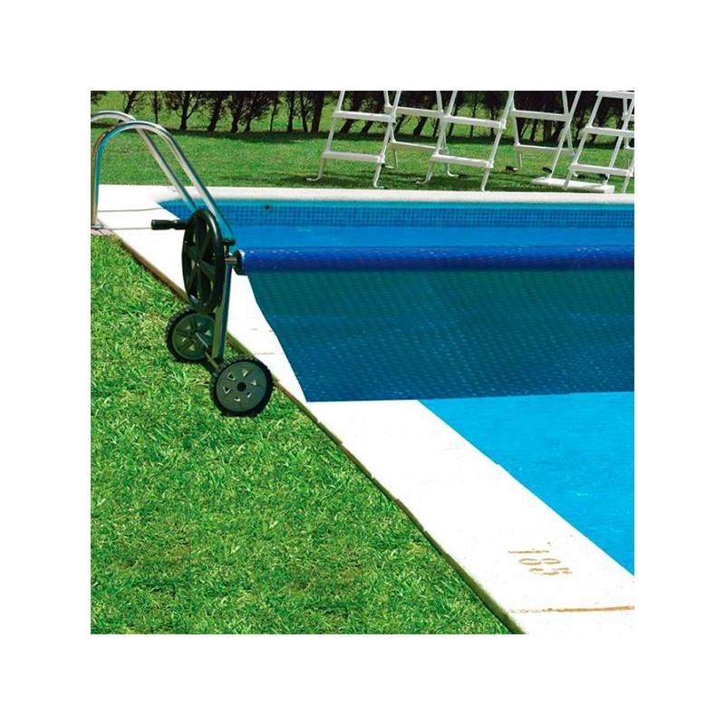 Enrollador manta t rmica gre para piscinas 90171 poolaria for Piscinas portatiles cuadradas