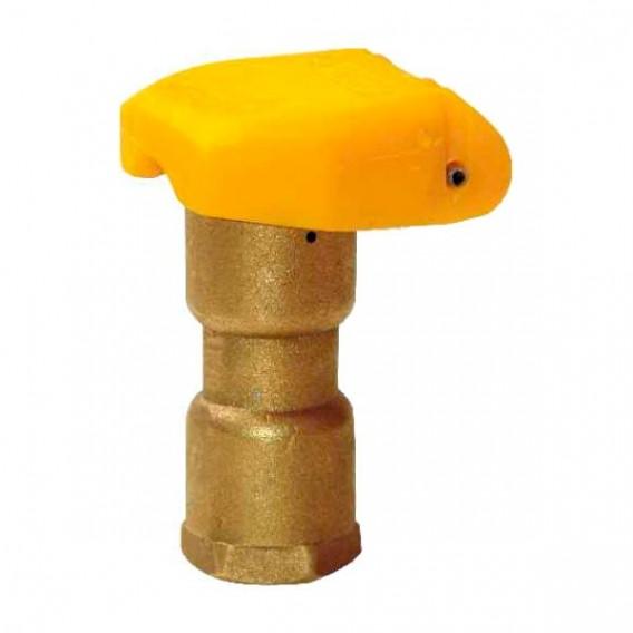 Boca de riego hidrante de acople rápido en bronce