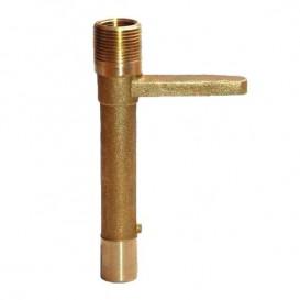 Llave para boca de riego en bronce