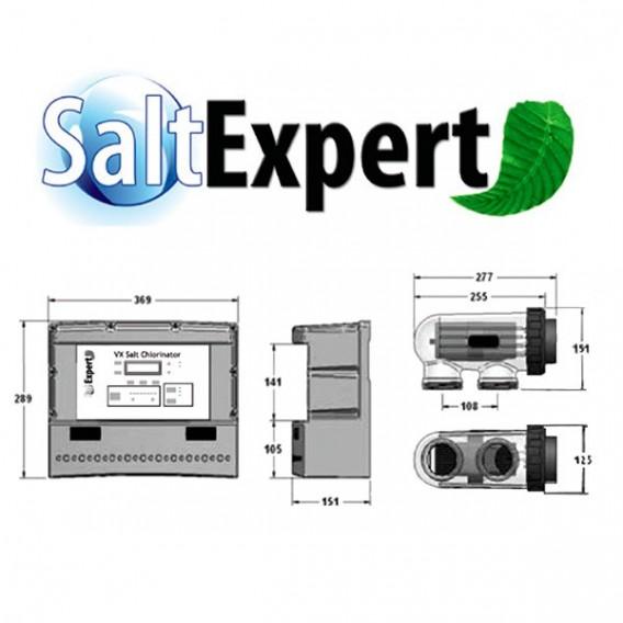 Clorador salino Salt Expert CTX Certikin para piscinas