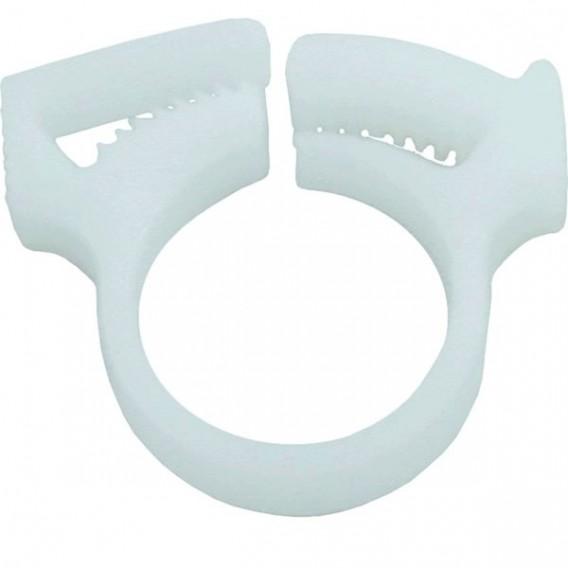 Abrazadera cola limpiafondos blanca Polaris 280 W7230206