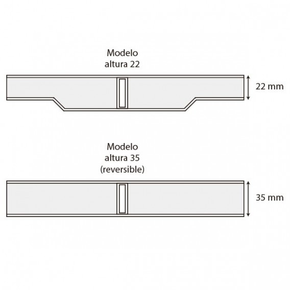 Módulo rejilla transversal marfil para curvas AstralPool