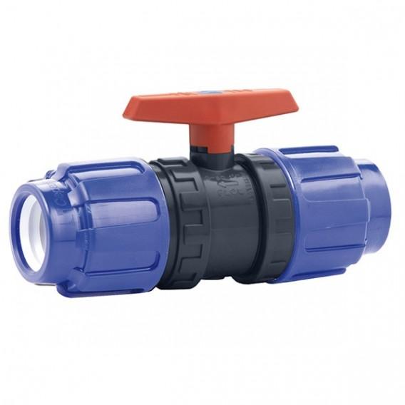 Válvula de bola Cepex PVC conexión PE x PE