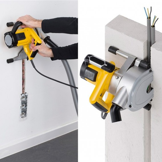 Rozadora ranuradora de pared 1800W Powerplus POWX0650