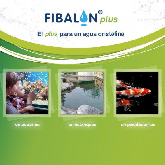 Fibalon Plus medio filtrante para estanques acuarios